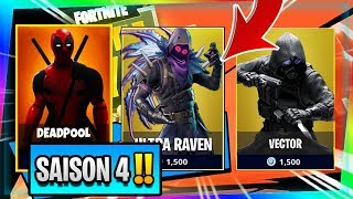 """NEW"" SAISON COMBAT PAS4 (SUPER-HEROS) "" on Fortnite Battle Royale!"