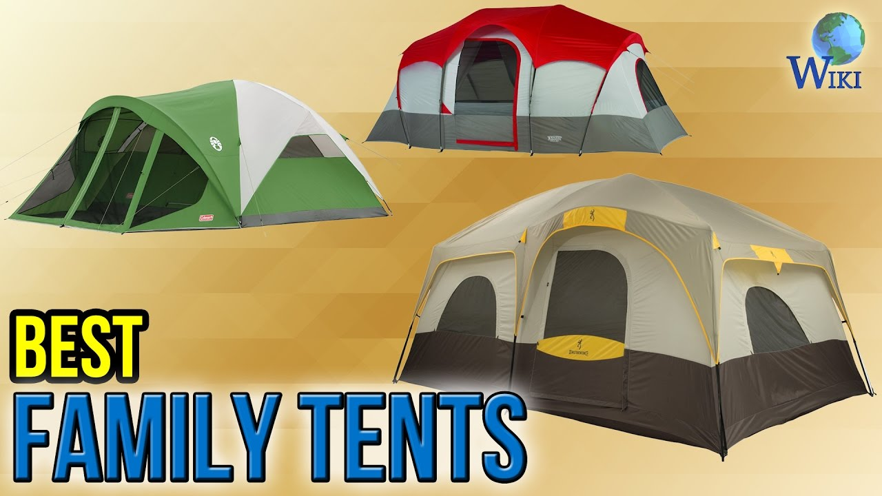 10 Best Family Tents 2017 & 10 Best Family Tents 2017 - YouTube