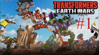 Новая игра Трансформеры: войны на земле (transformers earth wars). Смотрим. Часть 01