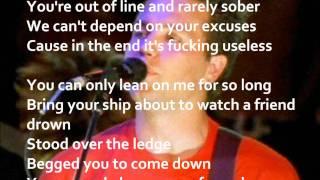 Video Blink 182 - Man Overboard (Lyrics) download MP3, 3GP, MP4, WEBM, AVI, FLV Juli 2018