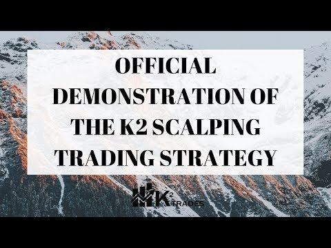 K2 TRADES - Official Demonstration Of The K2 Scalping Trading Strategy