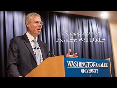 Inauguration of President William C  Dudley