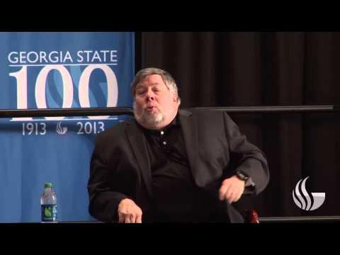 Georgia State University - Steve Wozniak Talks with President