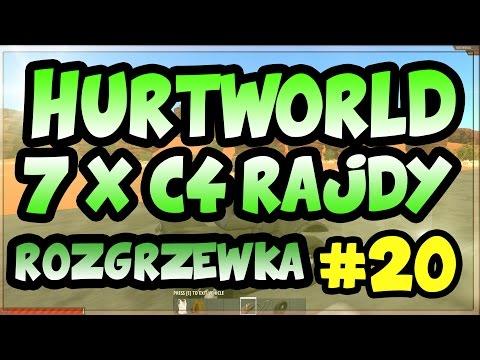 Hurtworld - EPIC 7x C4 RAJDY, RAMPY, Rozgrzewka przed czymś wielkim.. #20