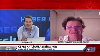 Haber Peşinde Erk Acarer Konuk Birsen Tanyeri 3 Ağustos 2019