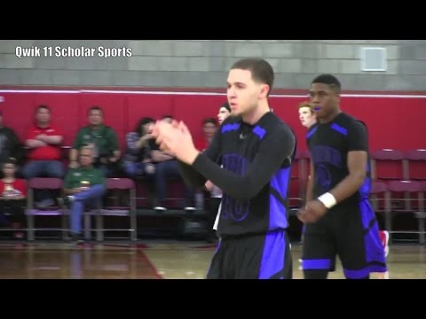 Mike Bibby Jr. Goes off for 20 points at the Nike Mater Dei Extravaganza 2016