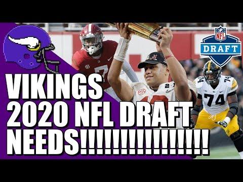 Minnesota Vikings 2020 NFL Draft Needs
