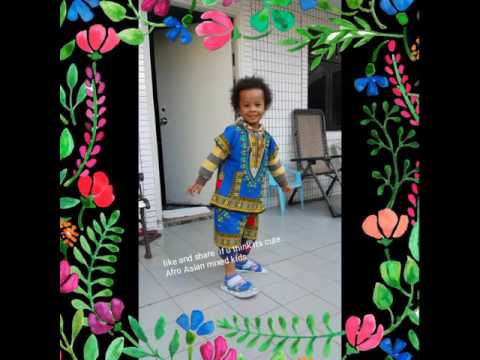 Afro Asian mixed Baby video