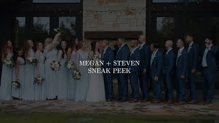 Megan + Steven  Sneak Peek | The Laurel Wedding Venue | Grapevine Texas | Zpro Films