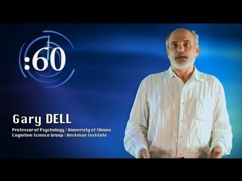 60-Second Science: Gary Dell on Psycholinguistics and Language Modeling