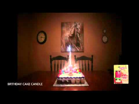Birthday Cake Candle (K&H Fireworks Canada)