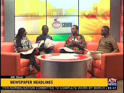 VW To Set Up In Ghana - AM Show Headlines on JoyNews (31-8-18)