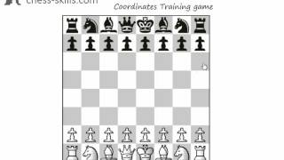 Learn chess notation - master the names of the squares in a few minutes.