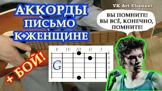 Письмо к женщине Аккорды на гитаре The retuses Сергей Есенин Разбор песни Бой