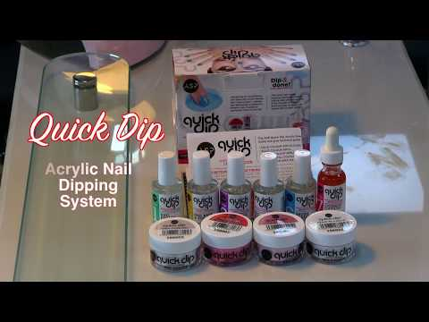 Quick Dip Acrylic Nails System