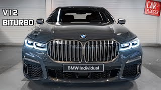 INSIDE the NEW BMW M760Li xDrive 2019 | Interior Exterior DETAILS w/ V12 REVS