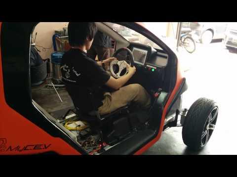 electric car driving in Malaysia, MJIIT