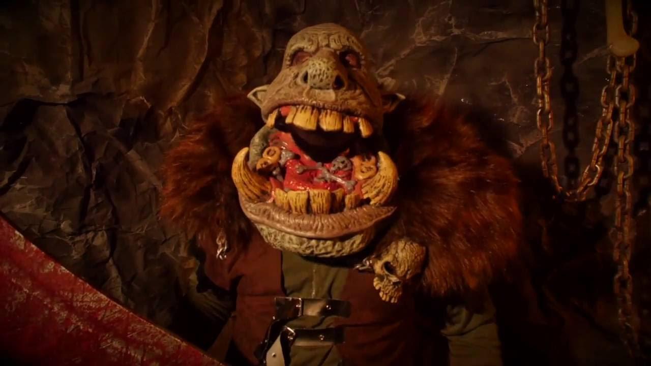 60615 Battle Troll Big Mouth Mask - YouTube