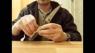Самодельный многофункциональный (мультитул) складной нож часть первая 1