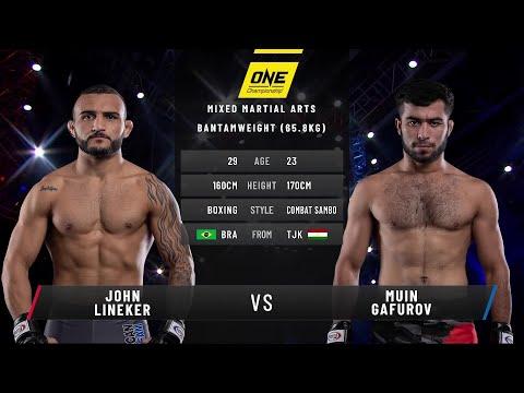 John Lineker vs. Muin Gafurov | Full Fight Replay