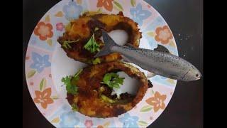 Simple way to make Fish Fry## చేపల వేపుడు సులభంగా ##