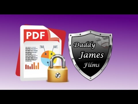 Solved How To Password Protect Your PDF Files 2016 Without Adobe