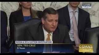 Ted Cruz Demolishes Social Media Giant Facebook,Google on Neutrality