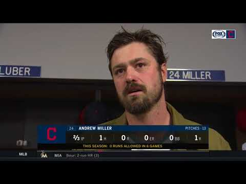 Andrew Miller accepts responsibility for giving up run despite odd call  INDIANSBLUE JAYS POSTGAME