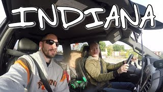 Driving in Indiana | Ride Along Hot Shot 10