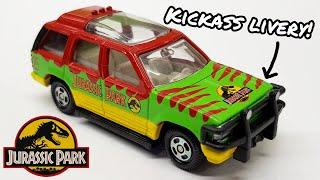 Jurassic Park Ford Explorer Tomica Review