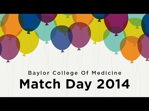 Baylor College of Medicine Match Day 2014