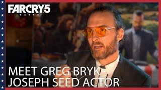 Far Cry 5: Meet Greg Bryk | Joseph Seed Actor | Ubisoft [NA]