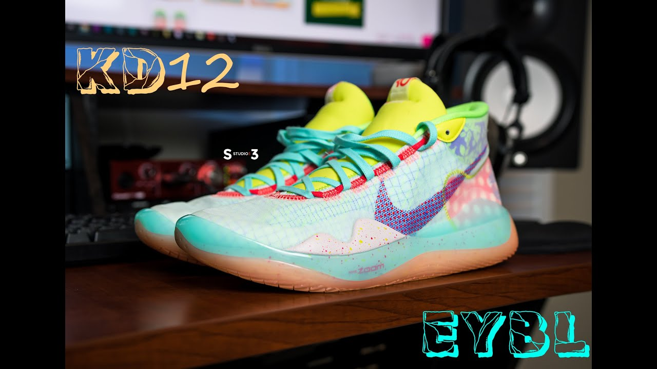KD 12   EYBL   Shoe and On Foot Review