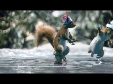 Новогодние новые заставки 'Белки' (Первый Канал, 2017-2018) ПОЛНАЯ ВЕРСИЯ ОРИГИНАЛ FULL HD - Ржачные видео приколы