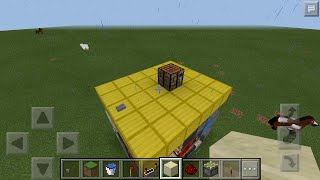 MCPE 0.15.4 hidden crafting table ( pop up )