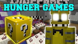 Minecraft: FIVE NIGHTS AT FREDDY'S HUNGER GAMES - Lucky Block Mod - Modded Mini-Game