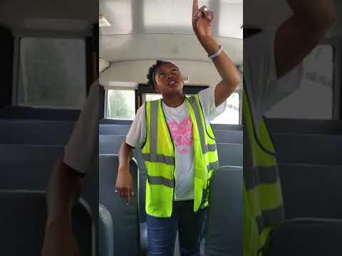 Flint Mi CDL B school bus pre trip inspection