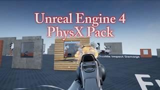 UE4 PhysX Pack Assets APEX Destruction