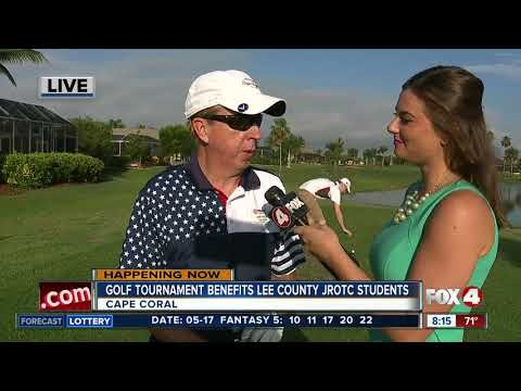 Golf tournament benefits JROTC student scholarship fund - 8am live report