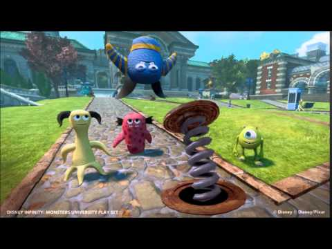 Disney Infinity Toy Box Music - Monsters University 2