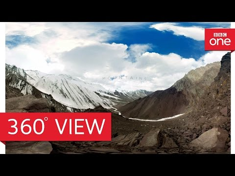 Snow leopards in 360° - Planet Earth II: Mountains - BBC One