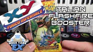 Pokemon XY Fuoco Infernale (FlashFire) Italian Booster Pack From Venice Rome