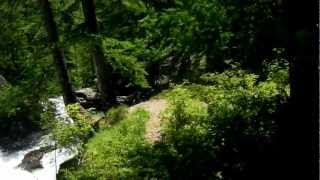 Vallée de la Clarée 8 juillet 2012 cascade près de Névache