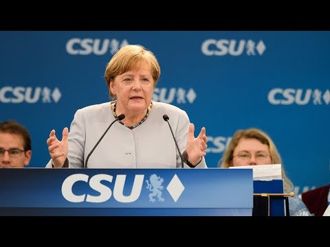 Merkel says Europe cannot count on United States