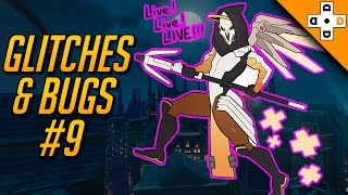 Overwatch Funny Glitches & Bugs #9 - Highlights Montage