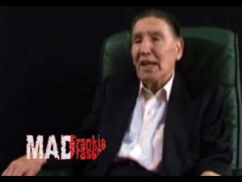 Mad Frank talks about killing and then threatens to kill Interviewer