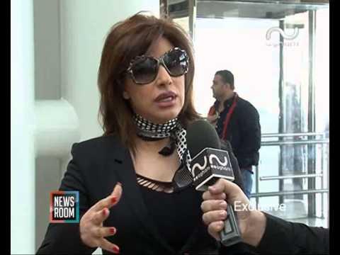 Najwa Karam نجوى كرم تحتفل بعيد ميلادها عبر أغاني أغاني