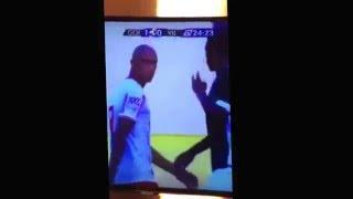 Vídeo flagra o jogador Wagner, do Goiás, insinuando que Robston usa droga