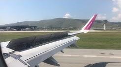 Wizz Air | A321 G-WUKG Descent and Landing in Prishtina Airport