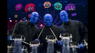 """Never-Before-Seen LIVE Music Performance - Blue Man Group Speechless """"Data Collection"""" (FULL CLIP)"""